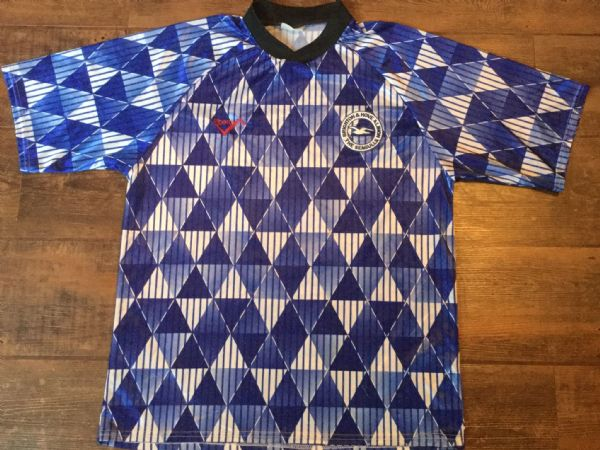 1993 Brighton & Hove Albion Training  Football Shirt Adults Large